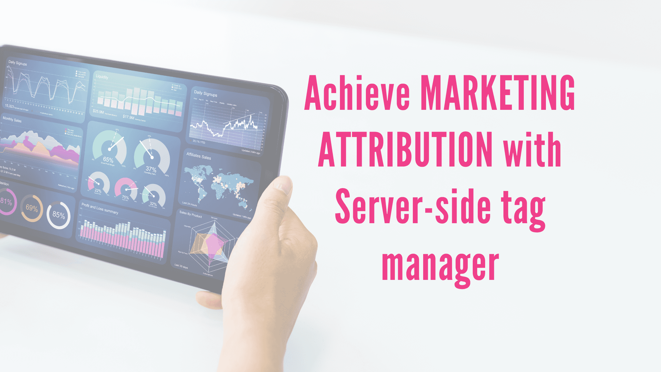 Achieve Marketing Attribution with Server-side tag manager