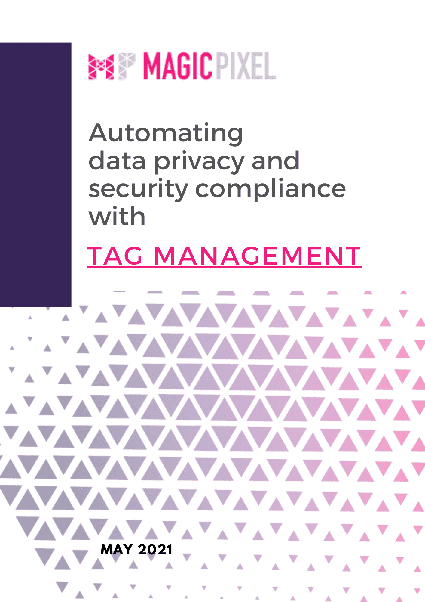 Whitepaper Automating data privacy and security compliance with Tag management